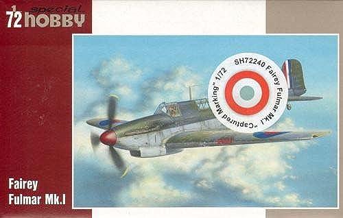 Fairey Fulmar Mk.I Capturé Marquage (1 72)