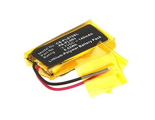 3.7V Battery Replacement for Plantronics W730 AWH75N WH210 CS70N Savi 730 CS70 Voyager Pro UC Avaya AWH75N CS70-N Voyager Pro Voyager Pro+ Voyager Pro HD 66278-01 79879-01 PA-PL003 140mAh