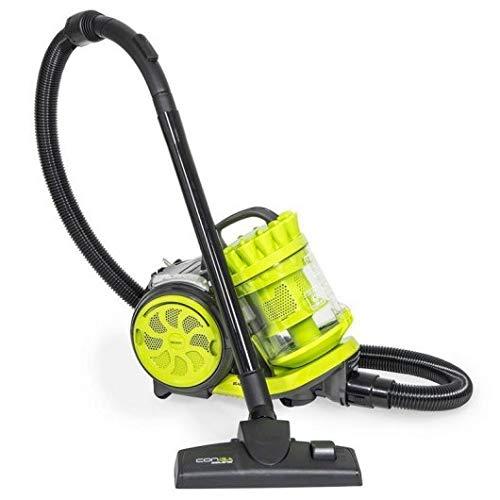 Cecotec Aspirador Trineo sin Bolsas  Conga Ciclonic Cord Rewinder. Potente, Tecnología Ciclónica, Gran Capacidad...