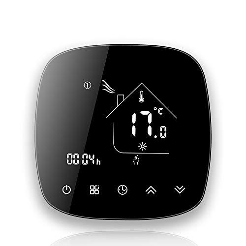 BecaSmart Termostato WiFi Serise 001, compatible con calefacción eléctrica táctil, control de...