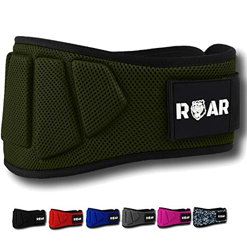 Roar® Cinturón Lumbar Gimnasio Cinturon gimnasio