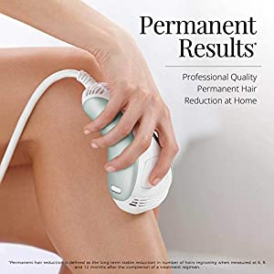 Remington IPL6500QFB iLight Ultra Face & Body At-Home IPL Hair Removal System, Permanent Results w/ Powerful 24Jsper Flash- FDA Cleared for Women & Men