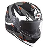 Suomy Casco Speedstar Flow, Mattwhite/Grey, M
