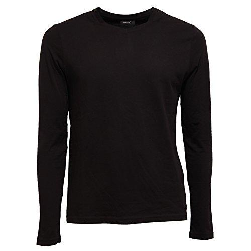Hamaki-Ho 9349S Maglia Uomo Nero t-Shirt Without Label Men [M]