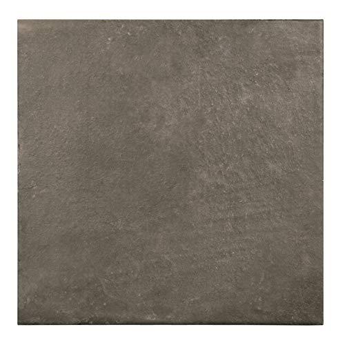 Nais Cerámica para suelos y paredes Colección Terra (20x20 cm) - Caja de 1 m2 (25 pzas), Slate