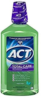 Act Tc Frsh Mnt Rinse Size 33.8z Act Total Care Fresh Mint Mouthwash