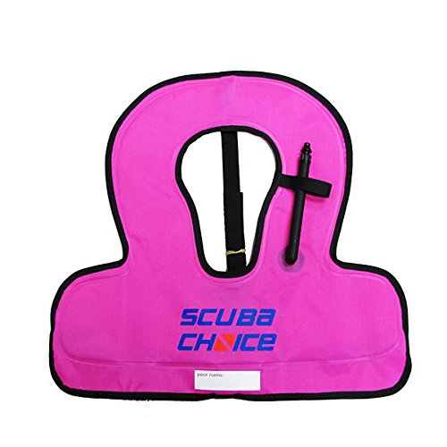 Scuba Choice Kid's Snorkel Vest with Name Box,...