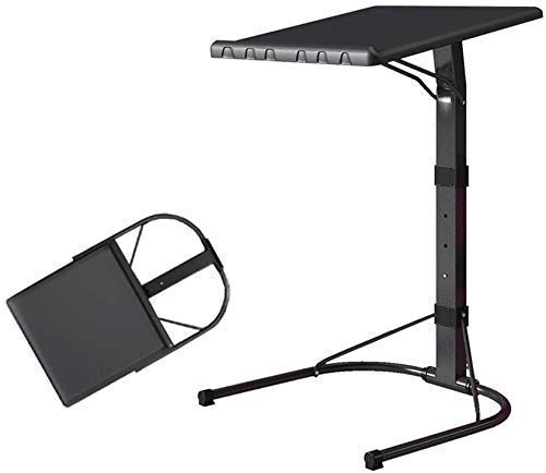 WXDP Silla de ruedas autopropulsada, mesa de sofá, mesa de ordenador portátil, mesas laterales para comer y portátiles, altura ajustable para escritorio, sofá lateral