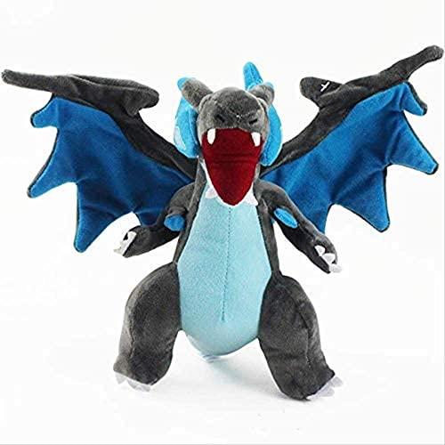 Qarunt Diseño de Mascotas Alf Dragon Peluche Toy Cumpleaños Regalo de cumpleaños Juguetes 25 cm Anaranjado Spray Fire Dragon A