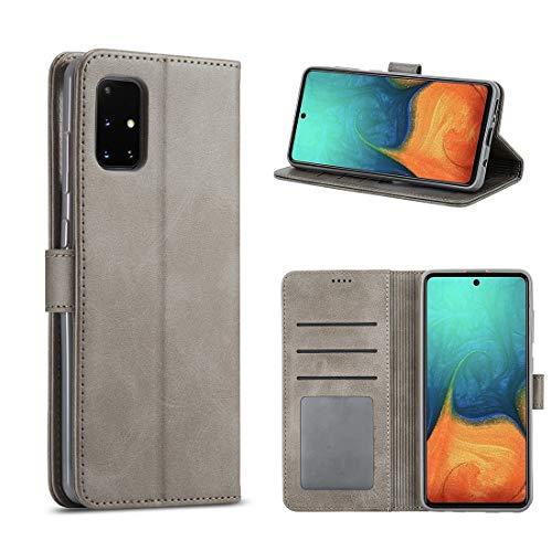 Foluu - Funda tipo cartera de piel sintética para Galaxy A41, diseño de piel sintética con función atril y función atril para Galaxy A41