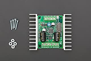 In ZIYUN,Sabertooth dual 12A motor driver,Peak currents of 15A are achievable for a few seconds,allows you to control two motors with,has independent and speed+direction operating modes