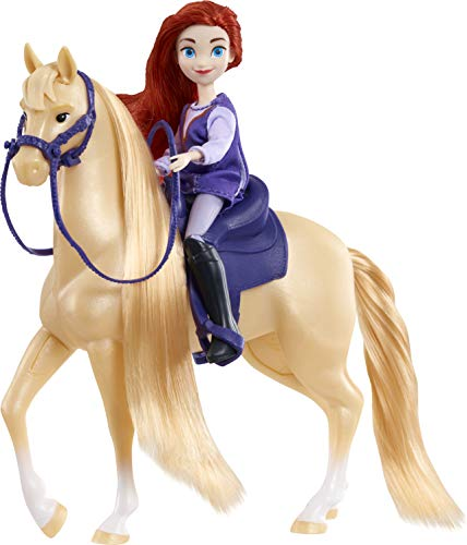 DreamWorks Spirit Riding Free Collector Doll & Horse - Maricela & Mystery