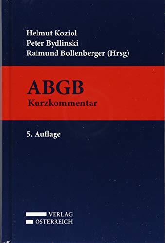 ABGB: Allgemeines bürgerliches Gesetzbuch