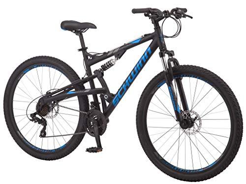 Product Image 4: Schwinn S29 Mens Mountain Bike, 29-Inch Wheels, 18-Inch/Medium Aluminum Frame, Dual-Suspension, Mechanical Disc Brakes, Matte Black