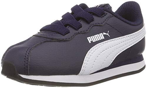 PUMA Unisex-Kinder Turin II AC Inf Sneaker, Peacoat White, 20 EU