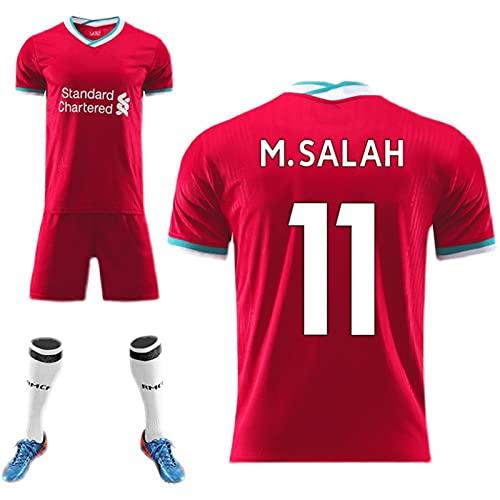 Backboards Liverpool Camiseta Segunda Equipación,2021 European Cup Camiseta de Manga Corta,Retro Niños...