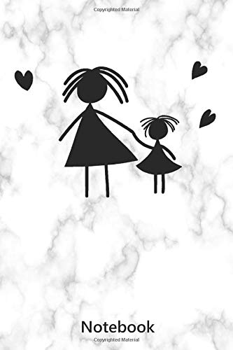Notebook: Mom With Child | Mother's Day (6x9 inch | lined paper | 100 pages)