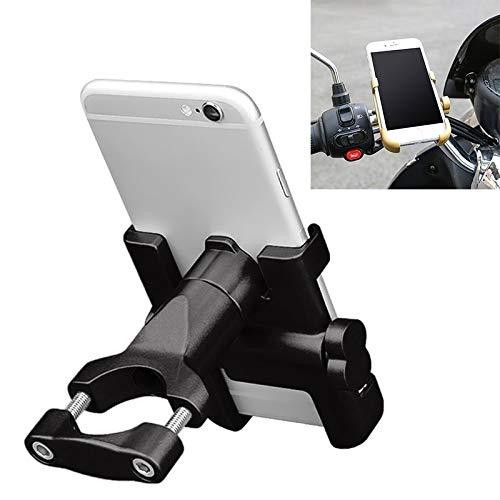 Soporte para teléfono motorblke impermeable Manillar de la motocicleta de aleación de aluminio de teléfono soporte, adecuados for el dispositivo 60-100mm, for la motocicleta / de la bicicleta etc