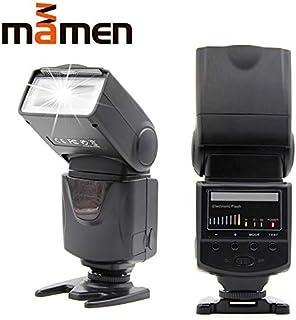 الفلاش - ضوء فلاش كاميرا سريع KM-680 مصباح LED 5600K مع مصباح ملء لـ DSLR لكاميرا Canon 5D2 60D 70D لنيكون D5300 D7200 The...