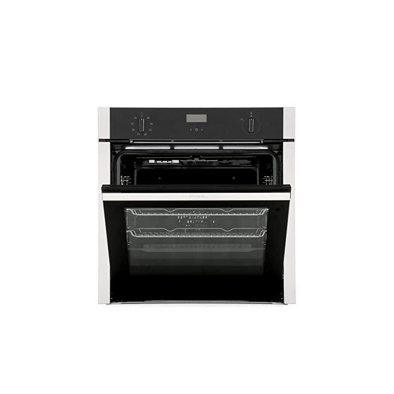 Neff N50 Slide & Hide 6 Function Single Oven with Catalytic Cleaning – Stainless Steel