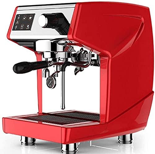 GaoF Die tragbare Espressomaschine, der kompatible gemahlene Kaffee und der dichte Milchschaum sind aus schickem Kaffee, der manuell von der Kolbe Action energiesparend Bedient Werden kann, rot
