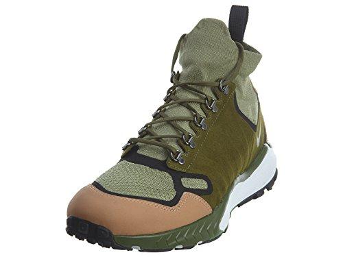 Nike Men Air Zoom Talaria Mid Flyknit Premium (Palm Green/Legion Green-Vachetta tan) Size 9 US