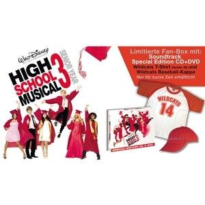 High School Musical 3 (Limitierte Fan-Box mit T-Shirt und Baseball-Kappe und Soundtrack)