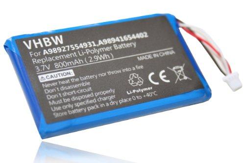 vhbw Akku passend für Sony Portable Reader PRS-600/RC eBook Reader (800mAh, 3,7V, Li-Polymer)