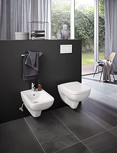 Keramag Renova Nr.1 Plan Tiefspül-WC spülrandlos, wandhängend weiß - 2