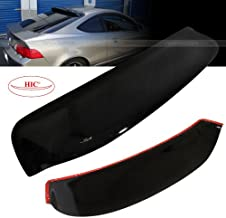 02-06 Acura RSX DC5 HIC Rear Roof Visor Spoiler Wing