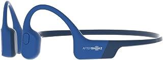 骨伝導 ワイヤレス イヤホン Aftershokz アフターショックス AEROPEX Blue Eclipse 【AFT-EP-000013】国内正規品2年保証 マイク付き Bluetooth ブルートゥース