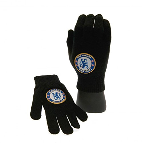 Chelsea F.C Knitted Gloves Junior NV