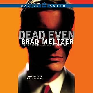 Dead Even audiobook cover art