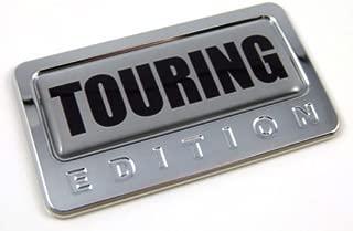 Car Chrome Decals CBEDI-TOURIN Touring Special Edition Car Chrome Emblem with Domed Decal Bike Auto Badge 3D