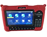 SATLINK WS-6980 DVB-S2 / C / T2 COMBO Optika Potenco Malkaŝo konstelacio analizilo / Spektro analyzer Digital Satellite Finder Metro
