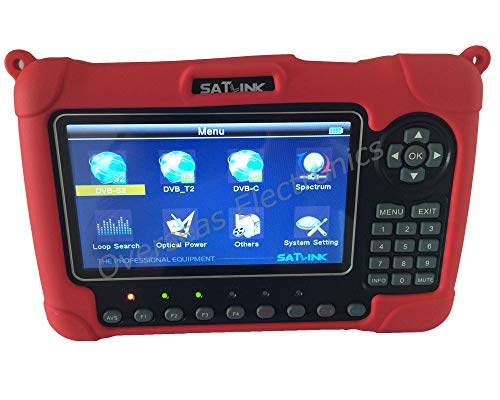 Saatlink WS-6980 DVB-S2/C/T2 Combo analizador de Constelación de detección de...