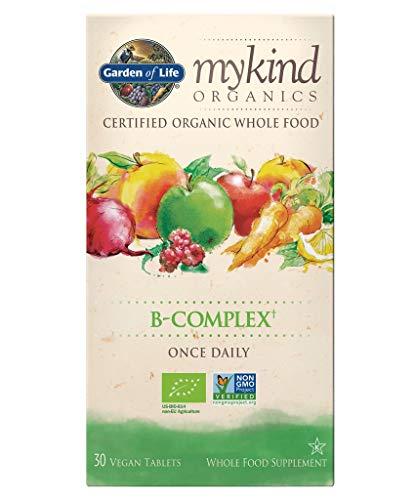 Garden of Life mykind Organics Vitamin B Complex, 30 Vegan Tablets