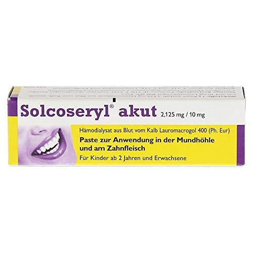 SOLCOSERYL akut Paste 5 g