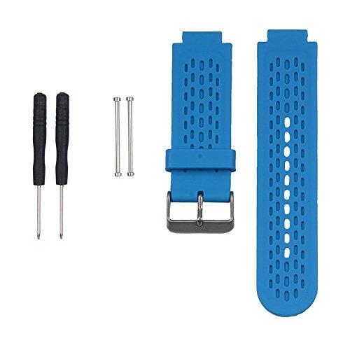 SCASTOE Silikon Handgelenk Band Strap für Garmin Approach S2/S4GPS-Golf-Uhr/vivoactive, dunkelblau