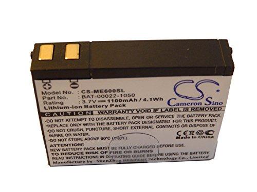 vhbw Li-Ion Akku 1100mAh (3.7V) für Golf Navigation GPS Track Skygolf Golf Buddy DSC-GB100K, Sg5 Range Finder, SkyCaddie SG5 wie BAT-00022-1050.