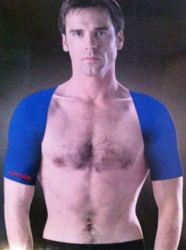 2er-Packung Sportbandage Schulter (Beidseitig) Blau