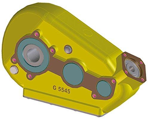 Kratzbodenantrieb - hydraulisches Getriebe 5545 Größe Abtrieb Ø 60mm