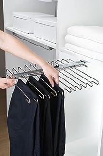 Filinox 82405001 - Herraje para pantalonero Suite Reversible 12 Barras