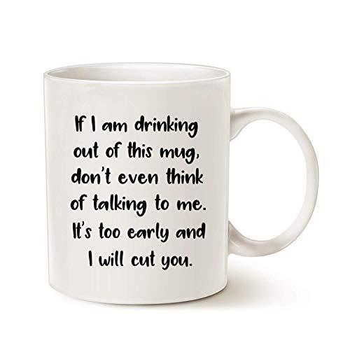 N\A Tazas de café para papás - Taza de cerámica Blanca Divertida de 11 oz - Regalos de cumpleaños para papá, Ideas de Regalos para el día del Padre, Padre pa