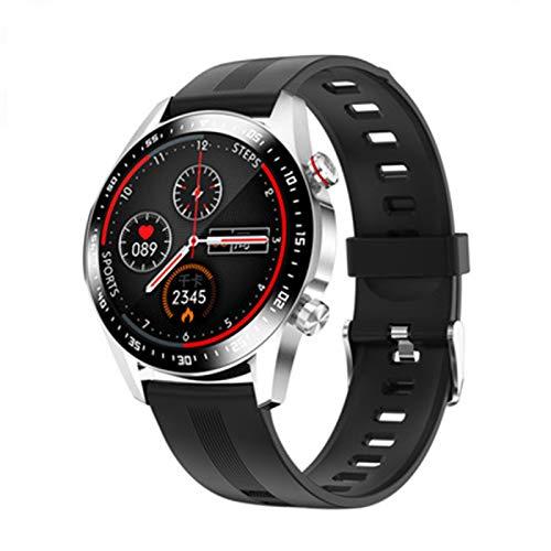 QNMB Nuevo E12 Smart Watch Bluetooth Llamada Llamada Monitoreo Corazón Monitoreo Aptitud Deportes Espacio Disco Smartwatch,D