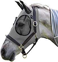 Professional`S Choice Comfort Fit Fly Mask Charcoal Horse