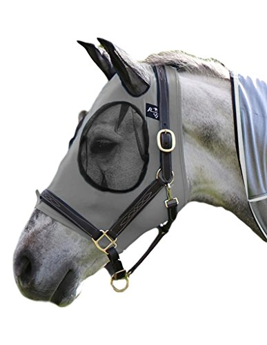 Professionals\' Choice ProfCoice Comfort Fit Fly Mask Fliegenmaske Black M