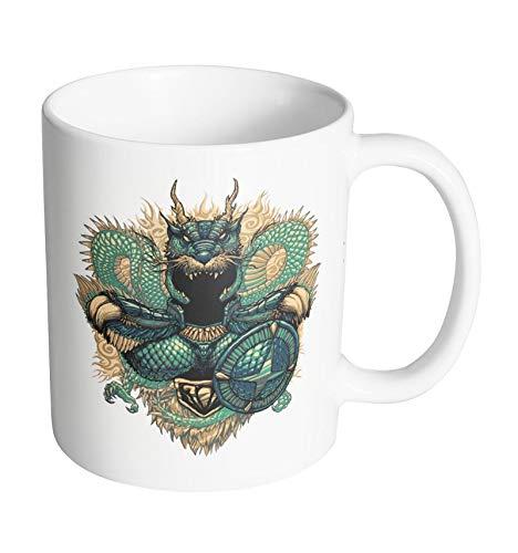 Taza de San Seiya – Icon Art Shiryu del dragón