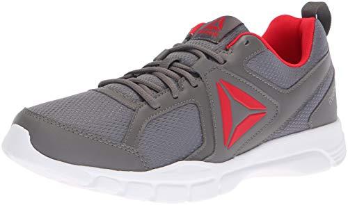 Reebok 3D Fusion - Zapatillas para Hombre, Color Negro, Blanco y Gris, Color Gris, Talla 39.5 EU