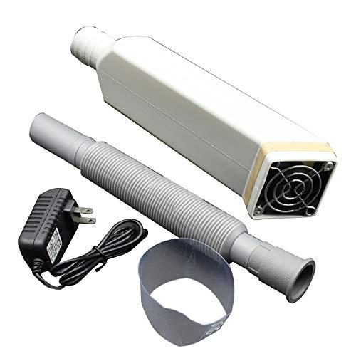 SNOWINSPRING Ventilador de ExtraccióN de Humo de Microscopio, Elimina Eficazmente el Humo del Aceite y el Gas de la Soldadura de Resina de ReparacióN de TeléFonos MóViles